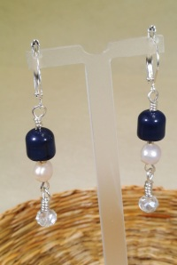 Blue Earrings - 2-DSC_0432