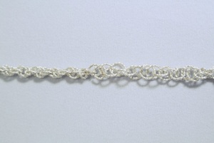 Chain - Crystal and Leaf necklace