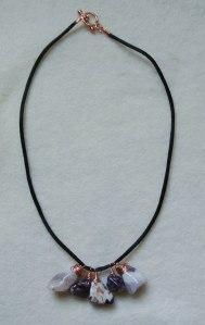 Amethyst on silk cord - DSC_0693
